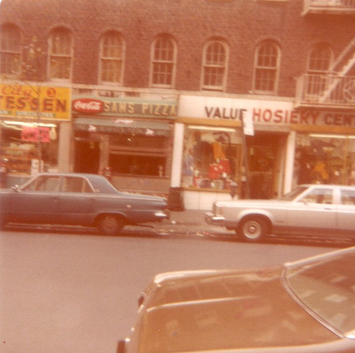 Sams Pizza 1970s