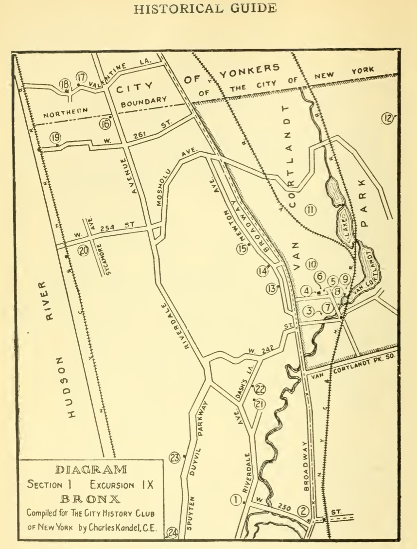 History Club map