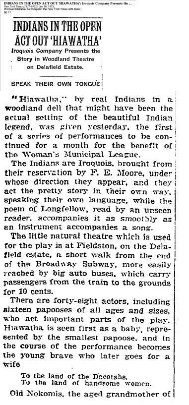 NY Times June 10 1913