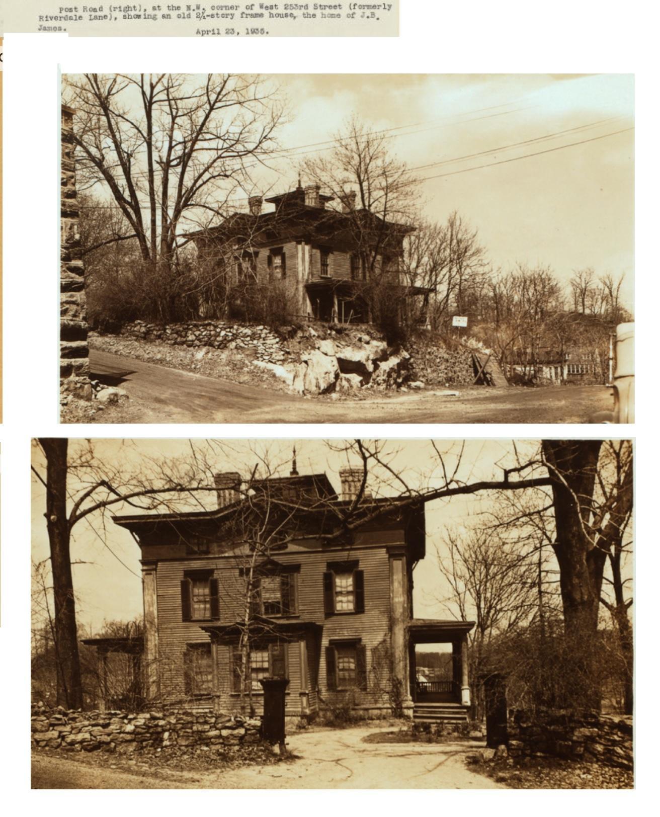Home of J. B. James