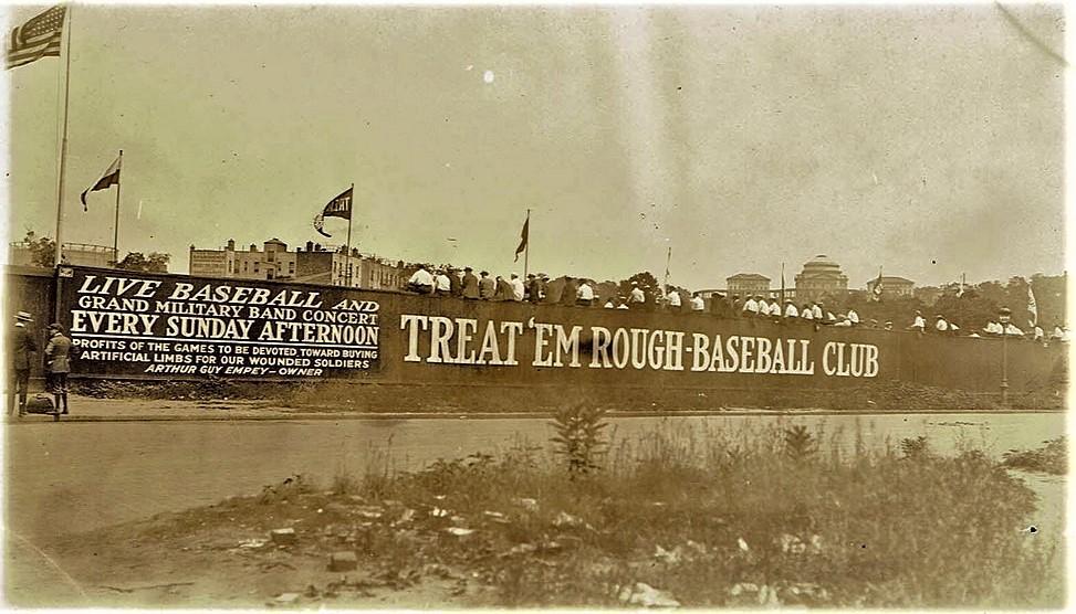 postcard image Dyckman Oval 1919