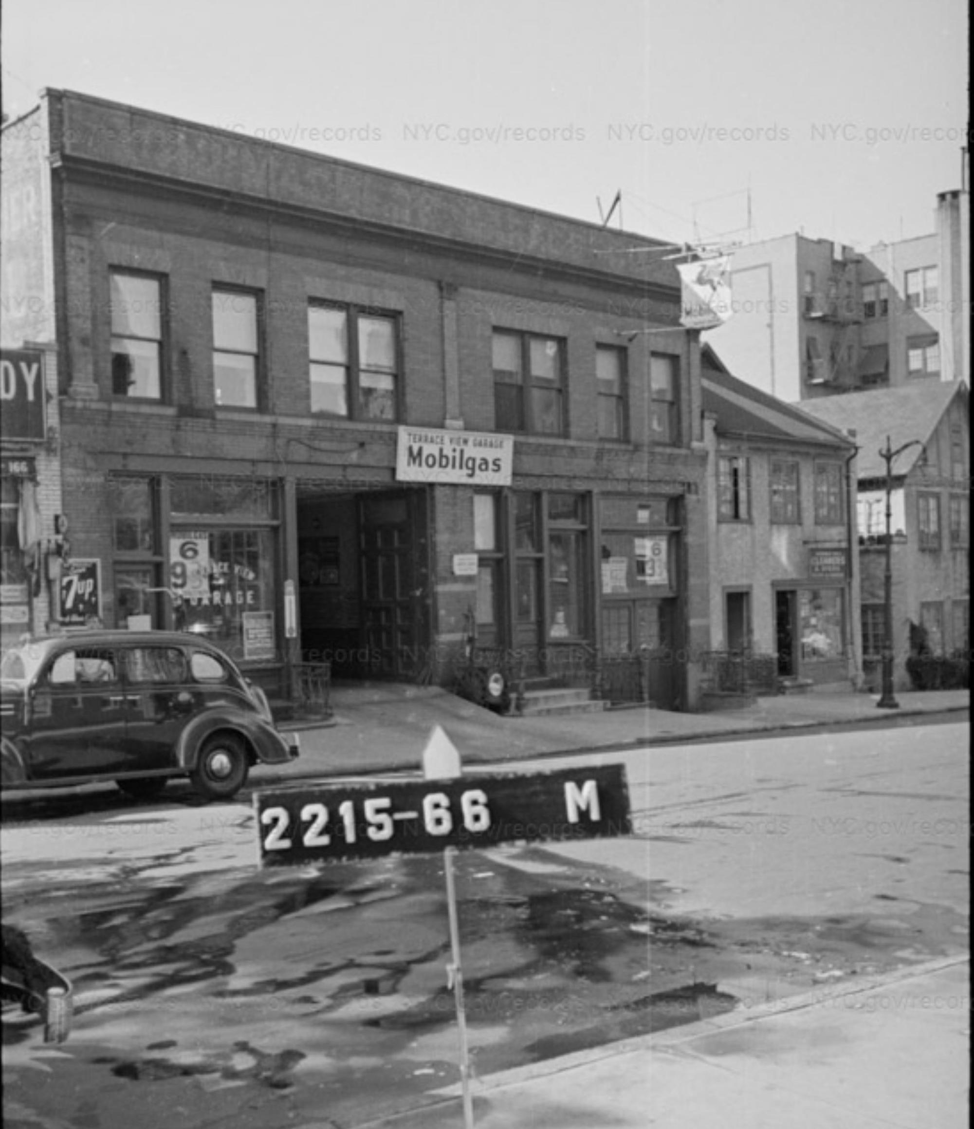1940s Tax Photo of 168 W 225th
