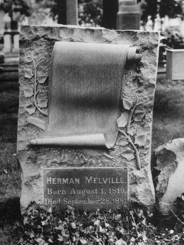 Melville Tombstone