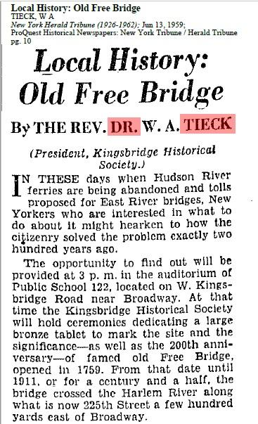 200 Anniversary of the Free Bridge KHS