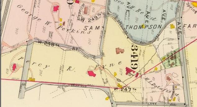Bromley 1907 map
