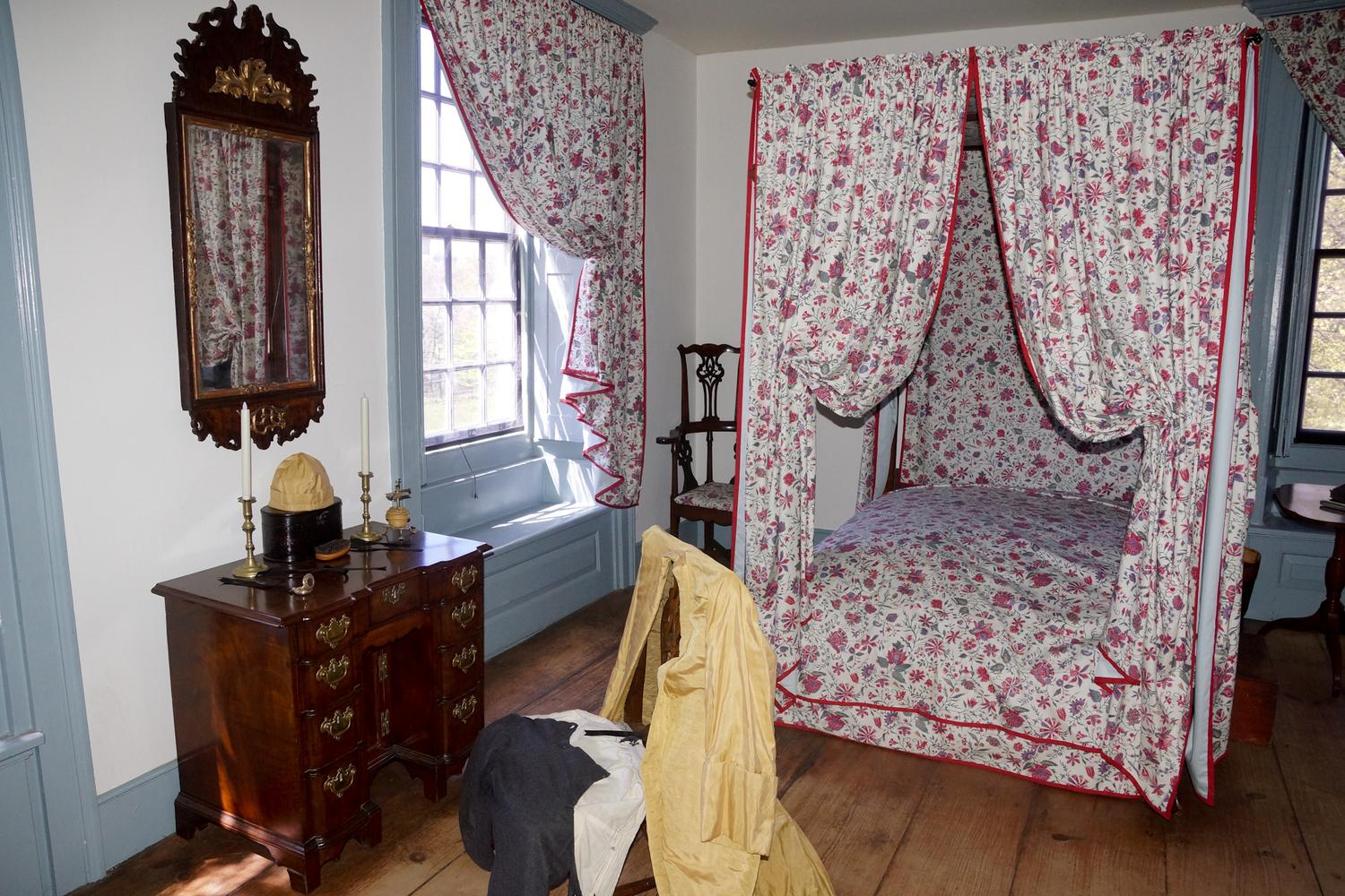 Gen Washington Bedroom Van Cortlandt Mansion