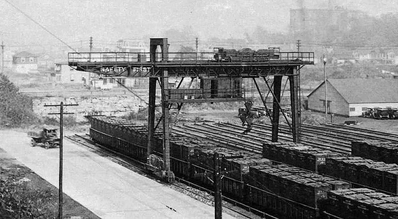 Kingsbridge yard 1927
