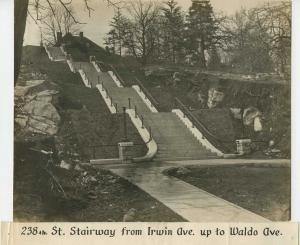 Kingsbridge 238th Street Steps 1914