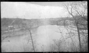 1938.04.22.inw.photo negative.Harlem River Ship Canal from Inwood Hill1