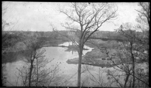 1938.04.22.inw.photo negative.Harlem River Ship Canal from Inwood Hill2