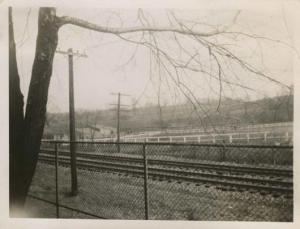 1949-CIRCA.kbr.Van Cortlandt train tracks-stables