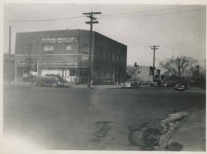 Northwest corner of W. 231st and Albany Crescent (building demolished for Major Deegan)