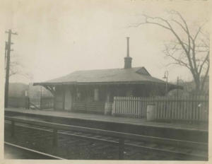 1951-CIRCA.kbr.Van Cortlandt train station