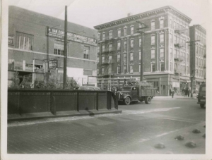 Looking northeast toward corner of W. 231st St. and Albany Crescent, ca. 1951