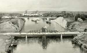 View of Harlem River Ship Canal
