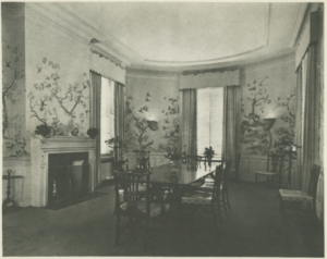Stonehurst dining room (undated)